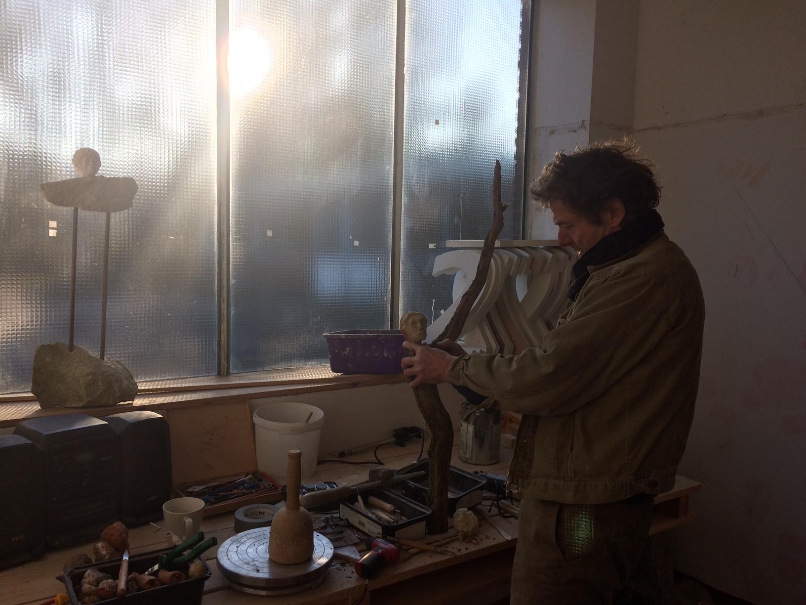 Neue Atelierräume an der Wienburgstr. 179